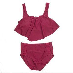 Other - Women's Bikini Swimsuit Plus Size 14 High Waist